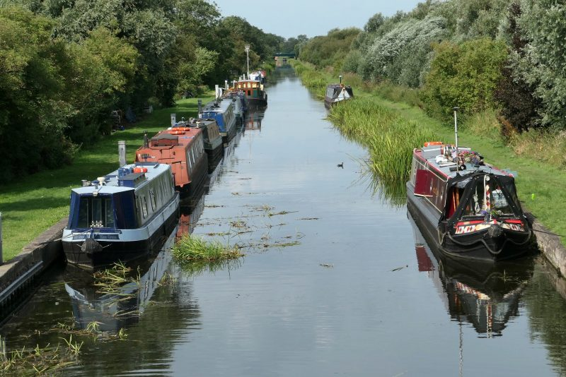 Chesterfield Canal Canal Misterton Houseboat