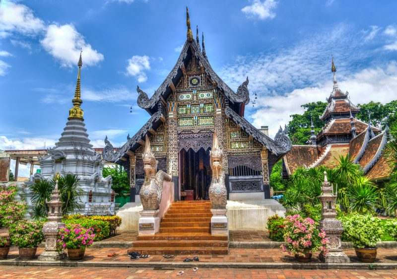 Chiang Mai Thailand Temple Religion Travel