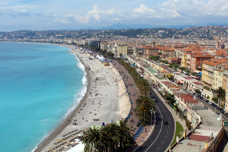 Nice South Of France Big City